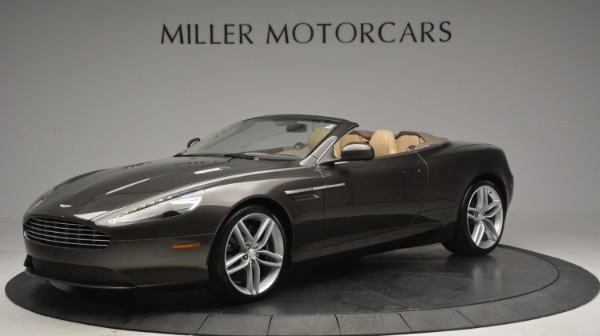 Used 2012 Aston Martin Virage Convertible for sale Sold at Maserati of Greenwich in Greenwich CT 06830 1