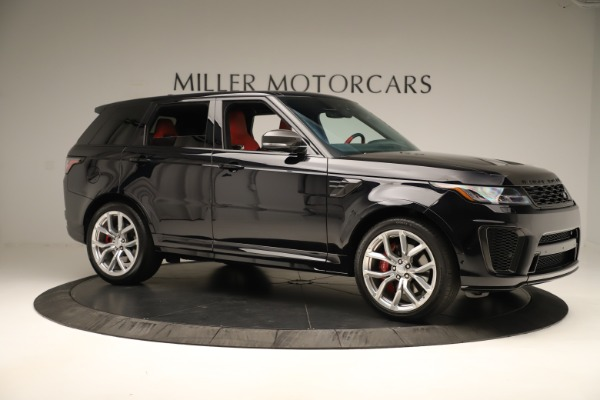 Used 2019 Land Rover Range Rover Sport SVR for sale Sold at Maserati of Greenwich in Greenwich CT 06830 10