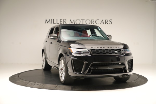 Used 2019 Land Rover Range Rover Sport SVR for sale Sold at Maserati of Greenwich in Greenwich CT 06830 11
