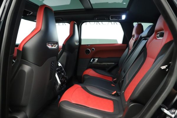 Used 2019 Land Rover Range Rover Sport SVR for sale Sold at Maserati of Greenwich in Greenwich CT 06830 17