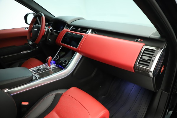 Used 2019 Land Rover Range Rover Sport SVR for sale Sold at Maserati of Greenwich in Greenwich CT 06830 18