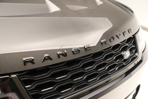 Used 2019 Land Rover Range Rover Sport SVR for sale Sold at Maserati of Greenwich in Greenwich CT 06830 24