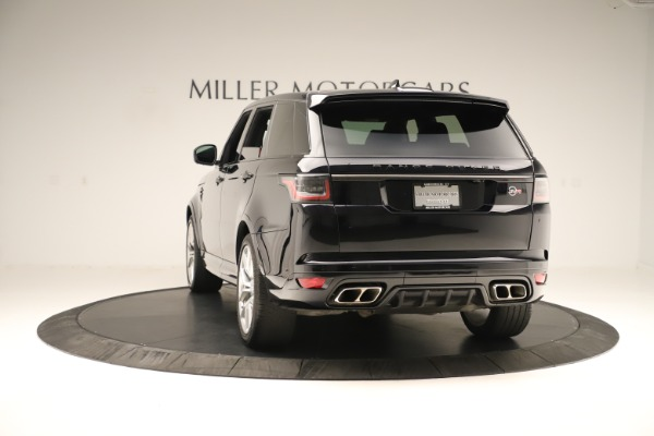 Used 2019 Land Rover Range Rover Sport SVR for sale Sold at Maserati of Greenwich in Greenwich CT 06830 5