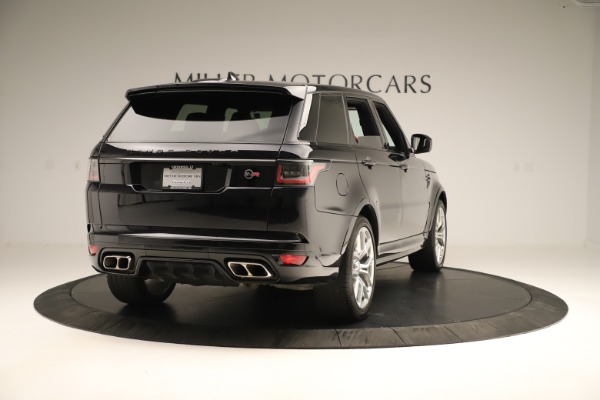 Used 2019 Land Rover Range Rover Sport SVR for sale Sold at Maserati of Greenwich in Greenwich CT 06830 7