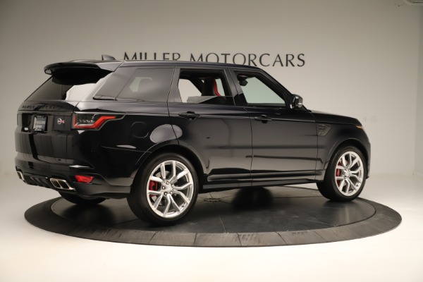 Used 2019 Land Rover Range Rover Sport SVR for sale Sold at Maserati of Greenwich in Greenwich CT 06830 8