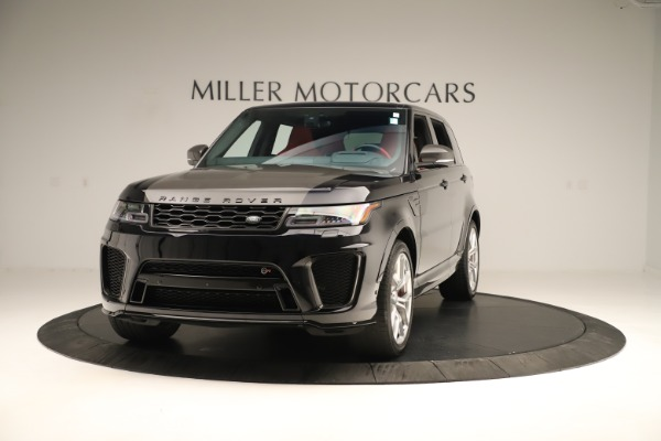 Used 2019 Land Rover Range Rover Sport SVR for sale Sold at Maserati of Greenwich in Greenwich CT 06830 1