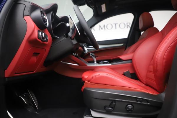 New 2019 Alfa Romeo Stelvio Ti Sport Q4 for sale $58,940 at Maserati of Greenwich in Greenwich CT 06830 14