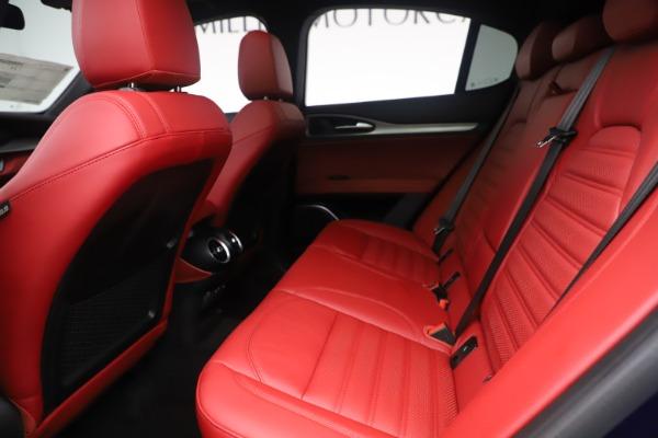 New 2019 Alfa Romeo Stelvio Ti Sport Q4 for sale $58,940 at Maserati of Greenwich in Greenwich CT 06830 19
