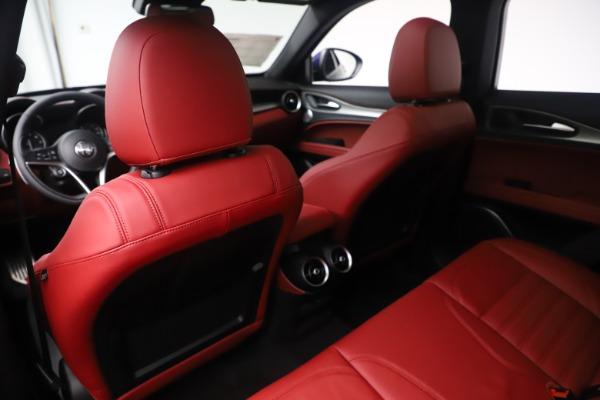 New 2019 Alfa Romeo Stelvio Ti Sport Q4 for sale $58,940 at Maserati of Greenwich in Greenwich CT 06830 20