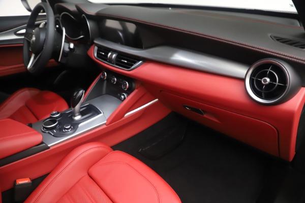 New 2019 Alfa Romeo Stelvio Ti Sport Q4 for sale $58,940 at Maserati of Greenwich in Greenwich CT 06830 22