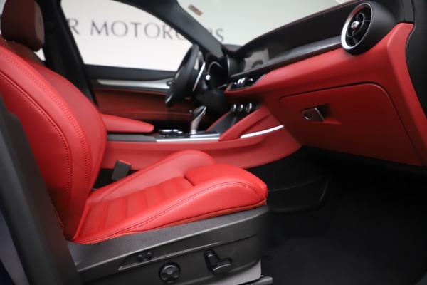 New 2019 Alfa Romeo Stelvio Ti Sport Q4 for sale $58,940 at Maserati of Greenwich in Greenwich CT 06830 23