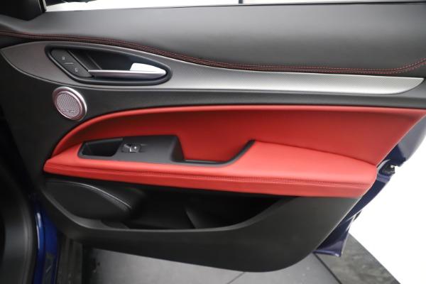 New 2019 Alfa Romeo Stelvio Ti Sport Q4 for sale Sold at Maserati of Greenwich in Greenwich CT 06830 25