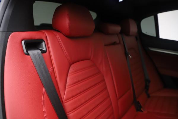 New 2019 Alfa Romeo Stelvio Ti Sport Q4 for sale $58,940 at Maserati of Greenwich in Greenwich CT 06830 26