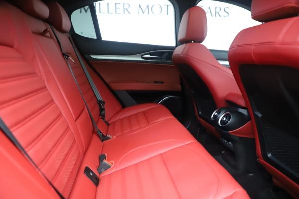 New 2019 Alfa Romeo Stelvio Ti Sport Q4 for sale Sold at Maserati of Greenwich in Greenwich CT 06830 27