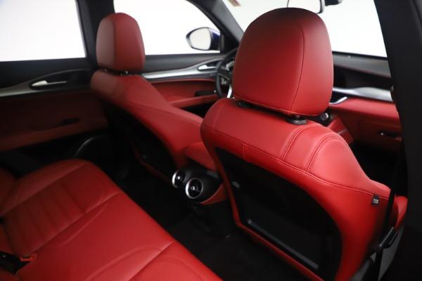 New 2019 Alfa Romeo Stelvio Ti Sport Q4 for sale $58,940 at Maserati of Greenwich in Greenwich CT 06830 28