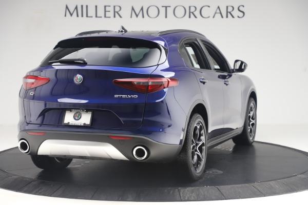 New 2019 Alfa Romeo Stelvio Ti Sport Q4 for sale $58,940 at Maserati of Greenwich in Greenwich CT 06830 7