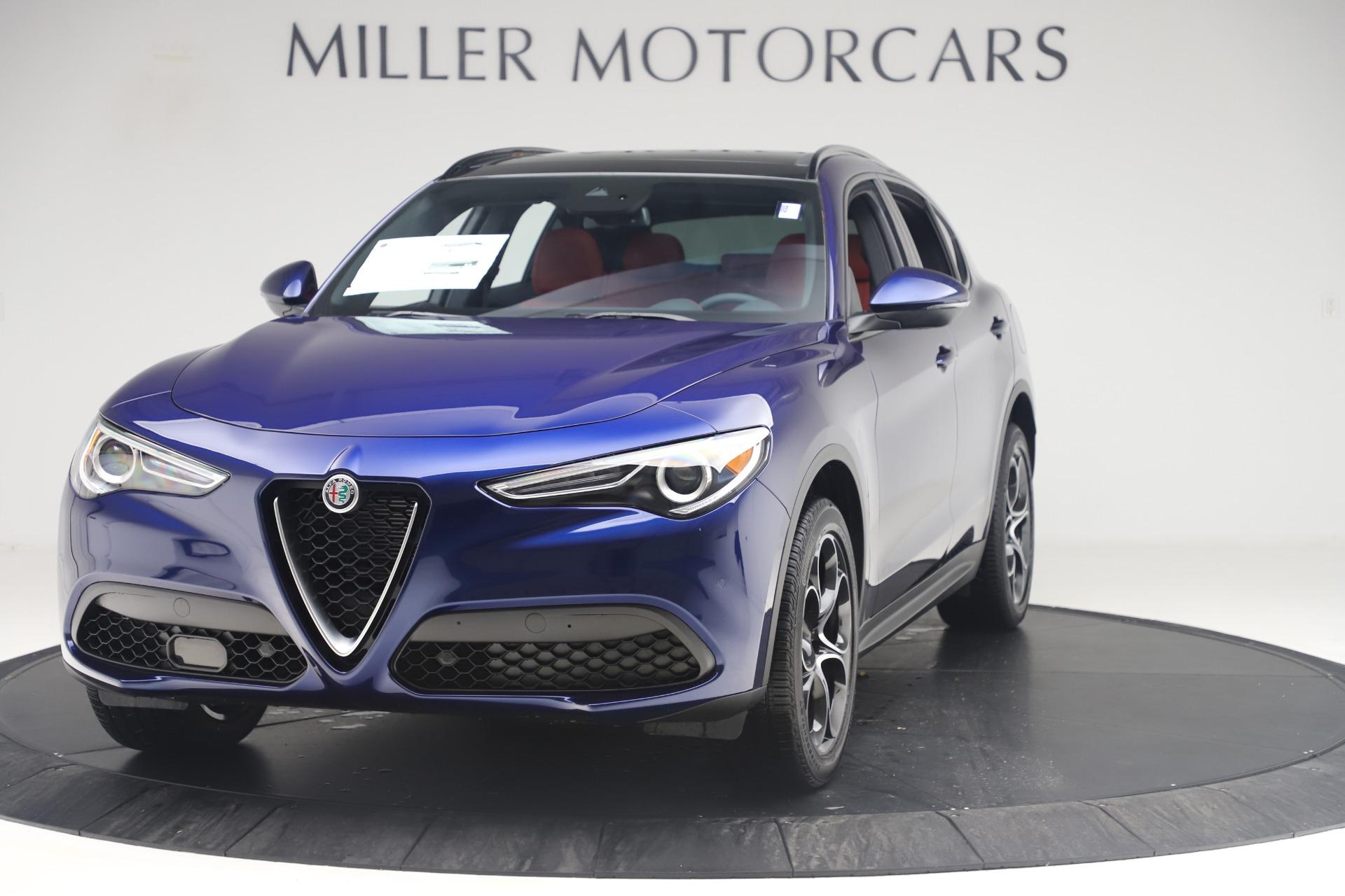 New 2019 Alfa Romeo Stelvio Ti Sport Q4 for sale Sold at Maserati of Greenwich in Greenwich CT 06830 1