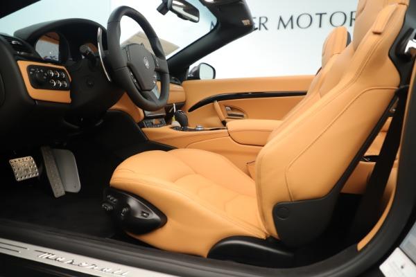 New 2019 Maserati GranTurismo Sport Convertible for sale $161,695 at Maserati of Greenwich in Greenwich CT 06830 20