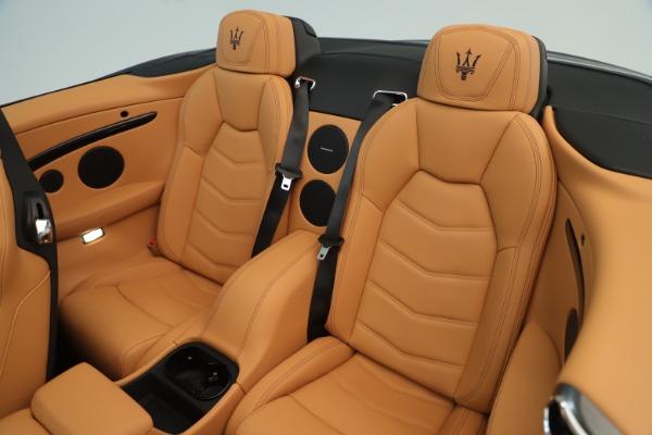 New 2019 Maserati GranTurismo Sport Convertible for sale $161,695 at Maserati of Greenwich in Greenwich CT 06830 23