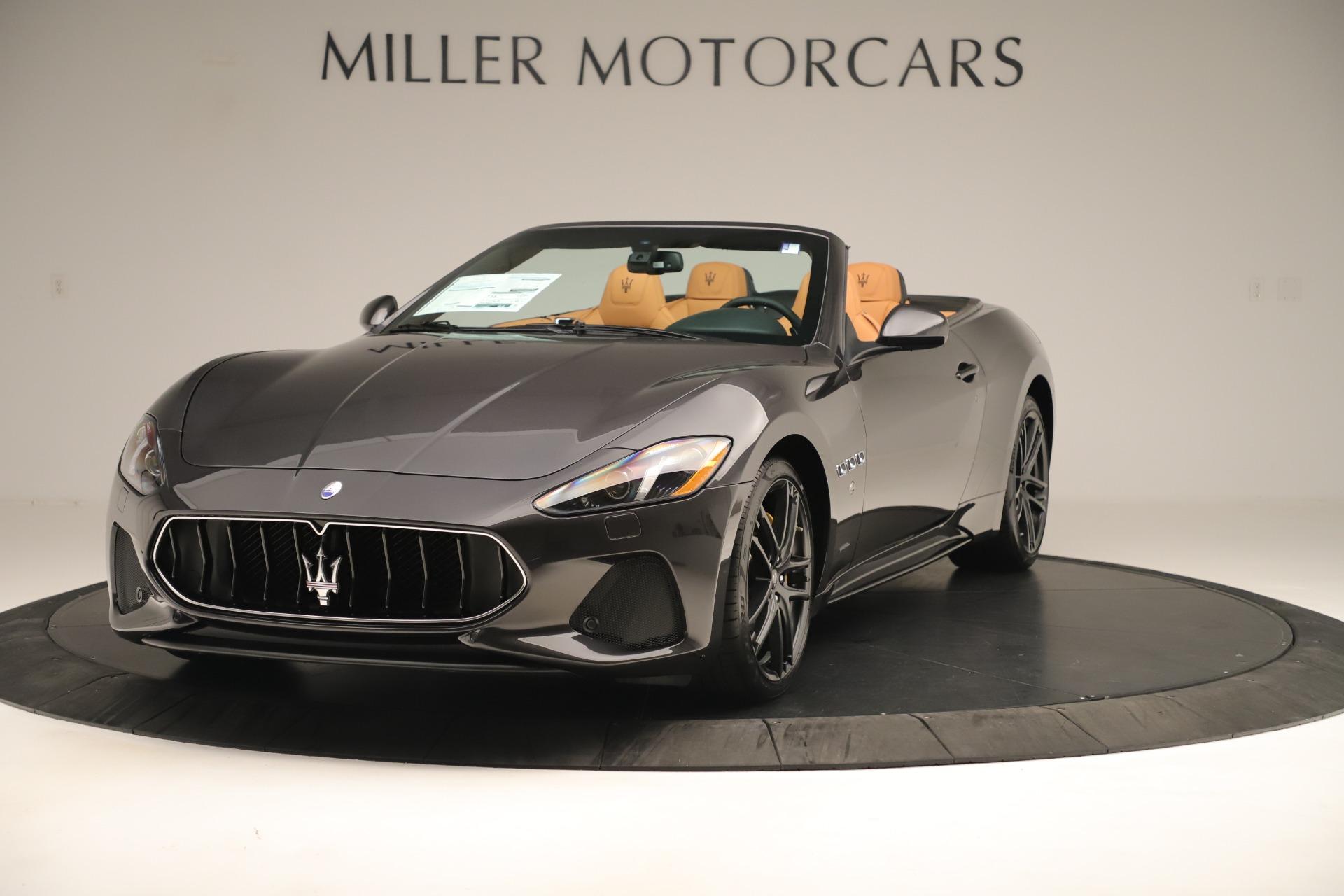 New 2019 Maserati GranTurismo Sport Convertible for sale $161,695 at Maserati of Greenwich in Greenwich CT 06830 1