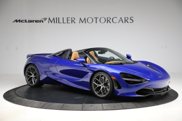New 2020 McLaren 720S SPIDER Convertible for sale $374,830 at Maserati of Greenwich in Greenwich CT 06830 10