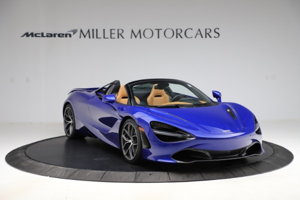 New 2020 McLaren 720S SPIDER Convertible for sale $374,830 at Maserati of Greenwich in Greenwich CT 06830 11