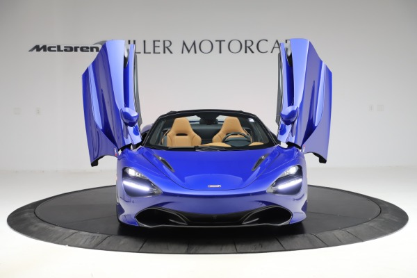 New 2020 McLaren 720S SPIDER Convertible for sale $374,830 at Maserati of Greenwich in Greenwich CT 06830 13