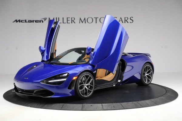 New 2020 McLaren 720S SPIDER Convertible for sale $374,830 at Maserati of Greenwich in Greenwich CT 06830 14
