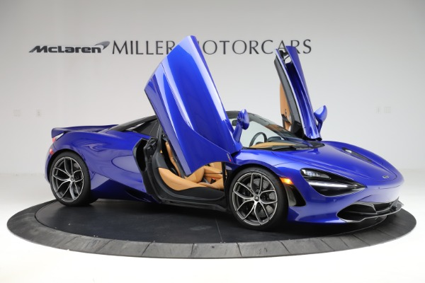 New 2020 McLaren 720S SPIDER Convertible for sale $374,830 at Maserati of Greenwich in Greenwich CT 06830 15