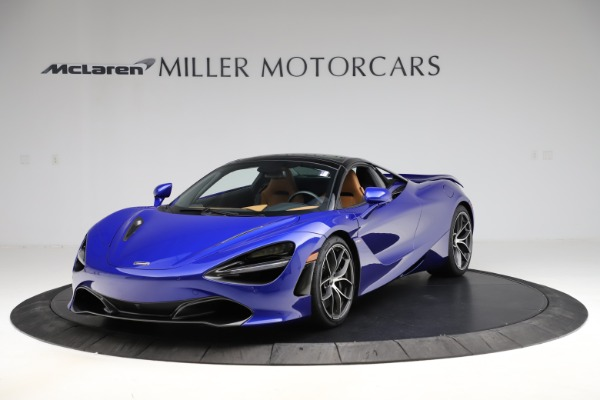 New 2020 McLaren 720S SPIDER Convertible for sale $374,830 at Maserati of Greenwich in Greenwich CT 06830 16