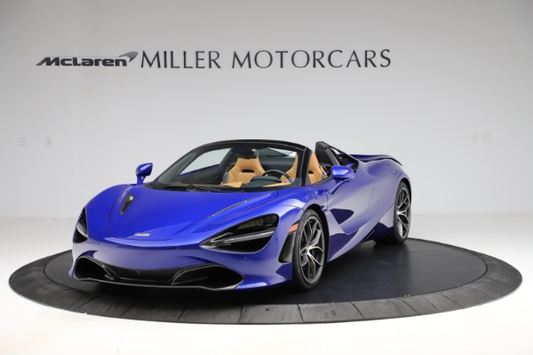 New 2020 McLaren 720S SPIDER Convertible for sale $374,830 at Maserati of Greenwich in Greenwich CT 06830 2