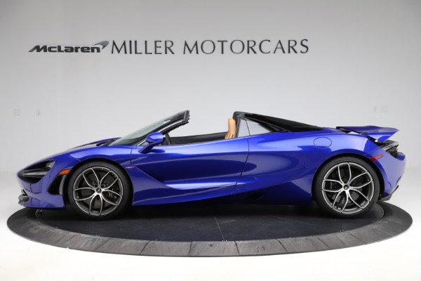 New 2020 McLaren 720S SPIDER Convertible for sale $374,830 at Maserati of Greenwich in Greenwich CT 06830 3