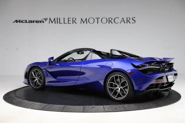 New 2020 McLaren 720S SPIDER Convertible for sale $374,830 at Maserati of Greenwich in Greenwich CT 06830 4