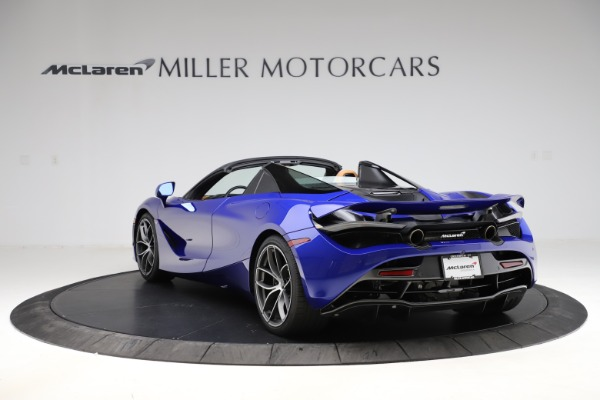New 2020 McLaren 720S SPIDER Convertible for sale $374,830 at Maserati of Greenwich in Greenwich CT 06830 5