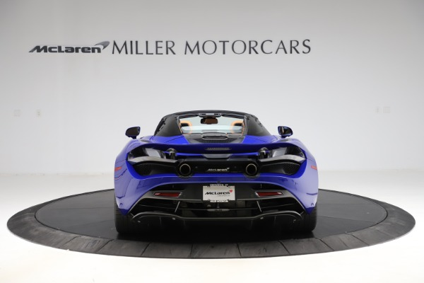New 2020 McLaren 720S SPIDER Convertible for sale $374,830 at Maserati of Greenwich in Greenwich CT 06830 6