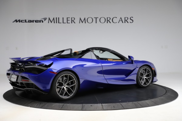 New 2020 McLaren 720S SPIDER Convertible for sale $374,830 at Maserati of Greenwich in Greenwich CT 06830 8