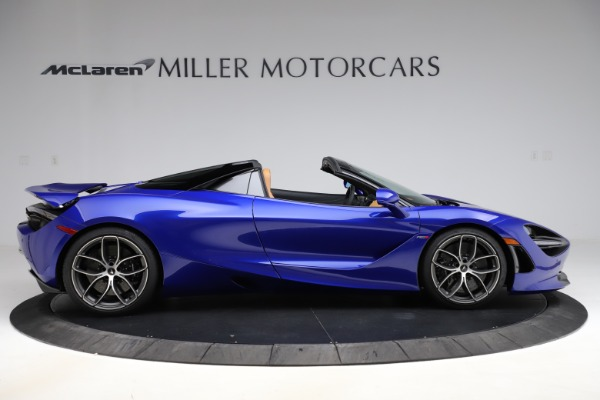 New 2020 McLaren 720S SPIDER Convertible for sale $374,830 at Maserati of Greenwich in Greenwich CT 06830 9