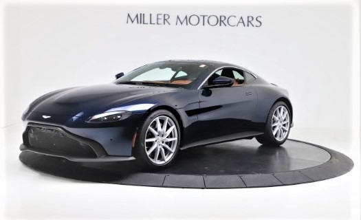 New 2020 Aston Martin Vantage Coupe for sale $163,524 at Maserati of Greenwich in Greenwich CT 06830 1