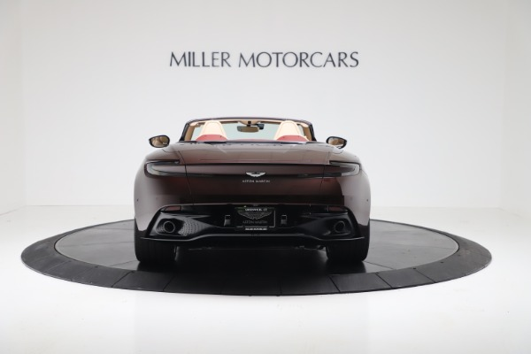 Used 2020 Aston Martin DB11 Volante Convertible for sale $223,900 at Maserati of Greenwich in Greenwich CT 06830 5