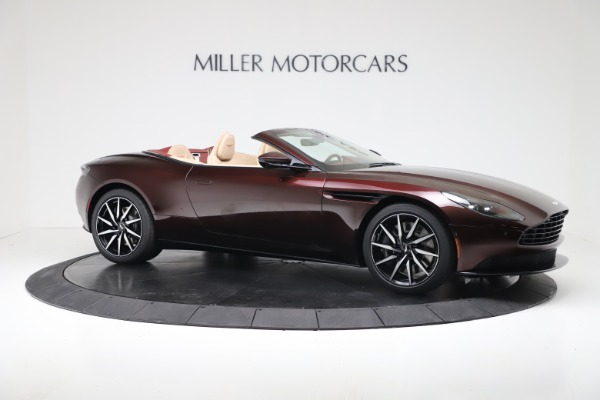 Used 2020 Aston Martin DB11 Volante Convertible for sale $223,900 at Maserati of Greenwich in Greenwich CT 06830 9