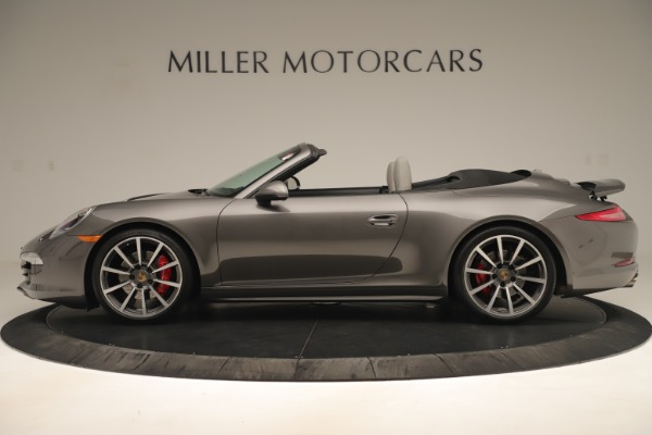 Used 2015 Porsche 911 Carrera 4S for sale Sold at Maserati of Greenwich in Greenwich CT 06830 3