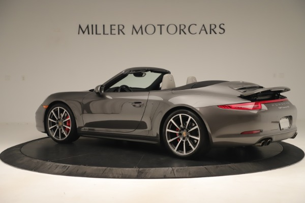 Used 2015 Porsche 911 Carrera 4S for sale Sold at Maserati of Greenwich in Greenwich CT 06830 4