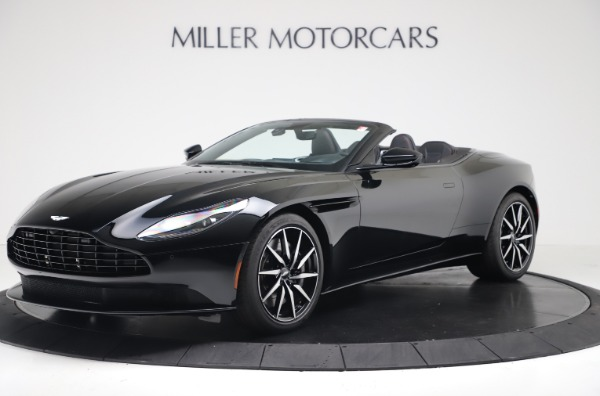 New 2020 Aston Martin DB11 Convertible for sale $250,446 at Maserati of Greenwich in Greenwich CT 06830 1