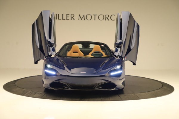 New 2020 McLaren 720S Spider Convertible for sale $372,250 at Maserati of Greenwich in Greenwich CT 06830 27