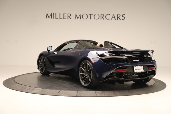 New 2020 McLaren 720S Spider for sale $372,250 at Maserati of Greenwich in Greenwich CT 06830 3