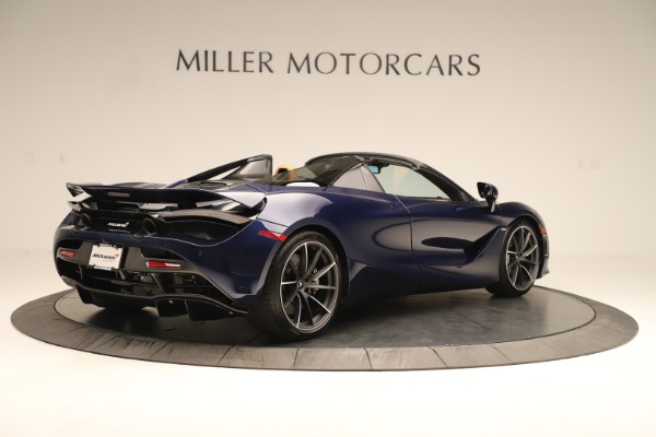 New 2020 McLaren 720S Spider for sale $372,250 at Maserati of Greenwich in Greenwich CT 06830 4