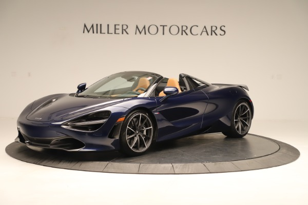 New 2020 McLaren 720S Spider for sale $372,250 at Maserati of Greenwich in Greenwich CT 06830 1