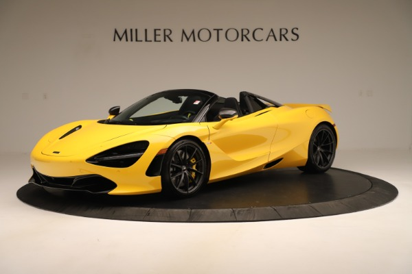 New 2020 McLaren 720S SPIDER Convertible for sale Sold at Maserati of Greenwich in Greenwich CT 06830 1