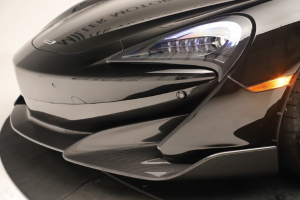 New 2019 McLaren 600LT Coupe for sale $278,790 at Maserati of Greenwich in Greenwich CT 06830 19