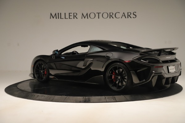New 2019 McLaren 600LT Coupe for sale $278,790 at Maserati of Greenwich in Greenwich CT 06830 3